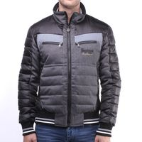 Men JACKET FULL ZIP DOUBLE COLOUR/FABRIC