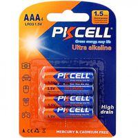 Baterii PkCell AAA 1.5V 4 bucati
