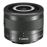 Canon EF-M 28 mm f/3.5 Macro STM, Prime Lens