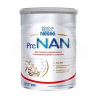 Nestle PreNan молочная смесь, 0+мес. 400 г