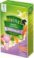 Heinz Лакомая каша кукурузная молочная тыква, чернослив, морковочка, 5+мес. 200г