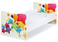 Klups Кровать TIMO/Звездочки 140x70