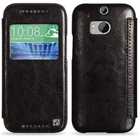 Hoco Crystal Case Leather  HTC One M8, Black