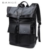 "Pюкзак Bange BG-G65 для ноутбука 15.6"", водонепроницаемый, чёрный"