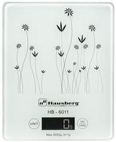 Весы кухонные Hausberg HB-6011 White