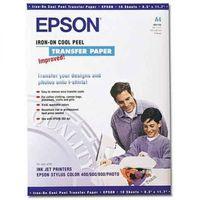 Epson Iron-on Peel Transfer Paper, A4 10p