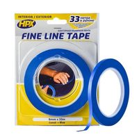 HPX FINE LINE Masking tape for curved shapes + 140 C