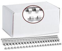 ARGO Пружина пластиковая ARGO A4/6мм, 100 штук, белая
