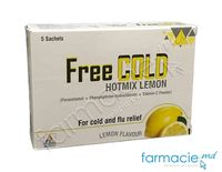 Freecold Hotmix Lemon pulb./sol. orala 750 mg/10 mg/60 mg 5 g N5