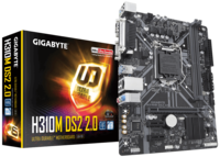MB Gigabyte H310M DS2 2.0 mATX //  CPU