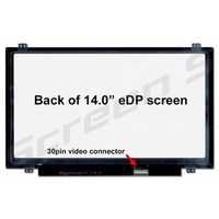 "Display 14.0"" LED 1366x768, 30 pins N140BGE-E33, N140BGE-EB3, N140BGE-EA3"