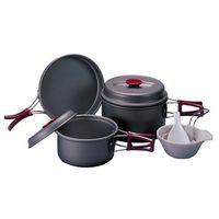 Набор посуды из анодированного алюминия COOKWARE KSK-WH23