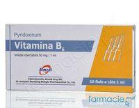Vitamina B6 sol.inj.50mg/ml 1ml N10 (China)
