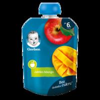 Пюре Gerber яблоко-манго, с 6 месяцев, 90г