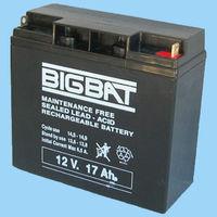 GEMBIRD Baterie 12V-17AH, черный