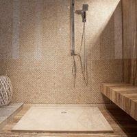 Стандартная травертиновая ванна ST-010 SBSS 120 x 80 x 3 см