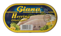 Hering file in ulei vegetal Giana 170 gr