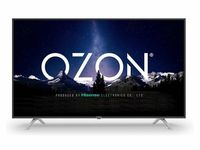 "50"" LED TV OZON H50Z6000, Black (3840x2160 UHD, SMART TV, PCI 1500Hz, DVB-T/T2/C/S2)"