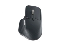 Wireless Mouse Logitech MX Master 3S, Optical, 200-4000 dpi, 7 buttons, Bluetooth+2.4GHz, Graphite