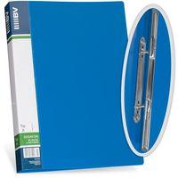BV Папка скоросшиватель BV А4 пластиковая на пружине синяя