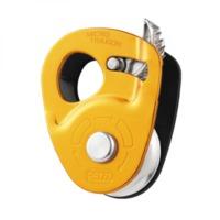 Ролик с зажимом Petzl Micro Traxion, yellow, P53