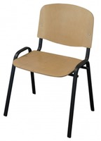 Art Metal Furniture ISO black, WOOD