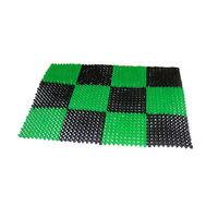 cumpără Covoras antreu (negru/verde) 41 x 54 în Chișinău