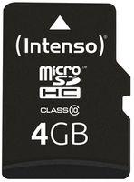 Сard de memorie Intenso MicroSD 4GB Class 10