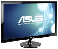 """27.0"""" ASUS """"VS278Q"""", G.Black (1920x1080, 1ms, 300cd, LED80M:1, 2xHDMI, DP, 2x2W) (27.0"""" TFT+ LED backlight, 1920x1080, 0.311mm, 1ms (Gray to Gray), DC80000000:1 (1000:1), 300cd/m2, 170°/160°, H:30-83kHz, V:50-76Hz, D-Sub, DisplayPort, 2 x HDMI, Speakers 2x2W)"""