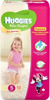 Huggies Ultra Comfort Small Girl 5 (12-22 кг.) 15 шт.
