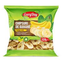 Chipsuri de banane, 120g