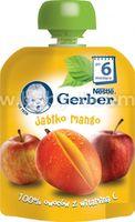 Gerber Пюре  «Яблоко-манго» 90g