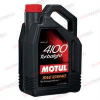 Масло моторное Motul, 10W40 4100 TL 4L