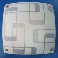 HF-MD1942 plafon patrat 2*E27 alb HF
