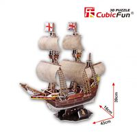 3D PUZZLE MAYFLOWER schooner