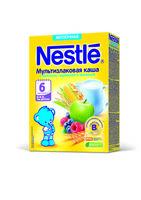 Nestle terci multicereale cu lapte, mere, afine şi zmeură, 6+ luni, 220 g