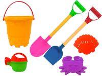 Набор игрушек для песка 6ед, 52cm