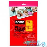 ACME Photo Paper (Value pack) A4 170 g/m2 20 pack Glossy