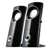 """cumpără Speakers SVEN 245 Black (USB),  2.0 / 2x2W RMS, USB power supply, headphone jack, microphone input, 2.2"""" în Chișinău"""