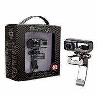 Prestigio PWC420HD, 2.0Mpixel, 1600x1200, Microphone, SnapshotButton, ManualFocusRing, FaceTracking Function, AutomaticBrightnessAdjustment, Automatic