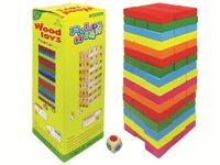 Игра из кубиков Башня (Дженга) 26.5X13X3.5cm