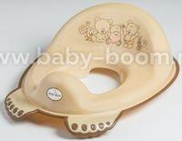 Tega Baby Сиденье для унитаза антискользящее  Мишка MS-016-119 беж