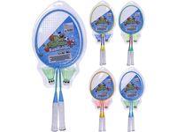 Set palete badminton si 2 fluturasi, in plasa