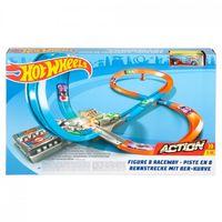Mattel Hot Wheels Set Action Fig 8 Race