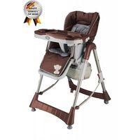 BabyGo стульчик для кормления Tower Maxi Brown