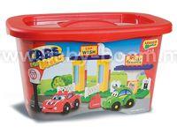 """Androni 8568-0CAR Конструктор Cars Kids """"Сервисная станция"""" (37 дет.)"""