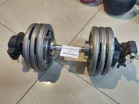 cumpără Set gantere reglabile metal 22 kg (747,1176,2541) în Chișinău