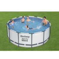 Бассейн Steel Pro Max 366x100cm, 9150Л, метал каркас