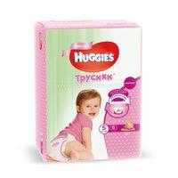 Huggies Трусики Girl 5 (13-17 кг.) 15 шт.