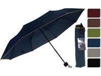 Зонт складной D106cm, одноцветный, 6цветов